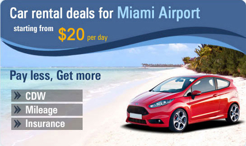 Car rental deals for Miami Airport