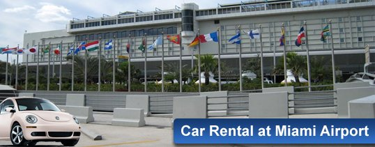 Car Rental At Miami Airport With Top Suppliers